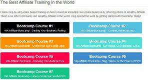 Affiliate Bootcamp Training