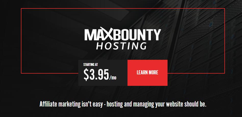 MaxBounty Hosting