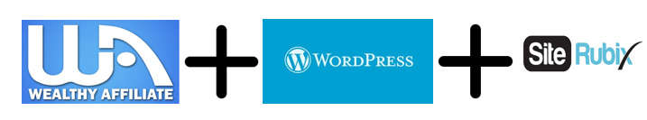 Wealthy Affiliate + WordPress+ Siterubix