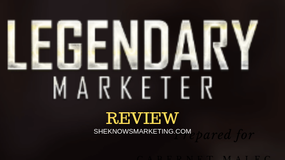 Legendary Marketer Logo
