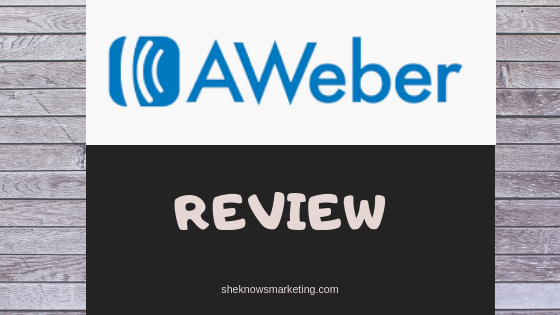 Personal Promo Code Aweber Email Marketing March 2020
