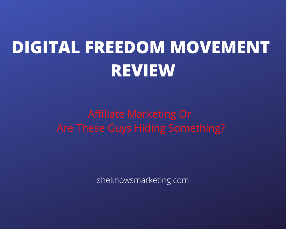 Digital Freedom Movement Review