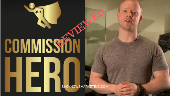 Affiliate Marketing Commission Hero Review On Youtube
