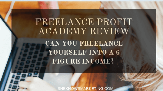 The Freelance Profit Academy Review Featured Image