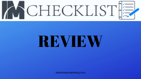 IM Checklist Review - Featured Image