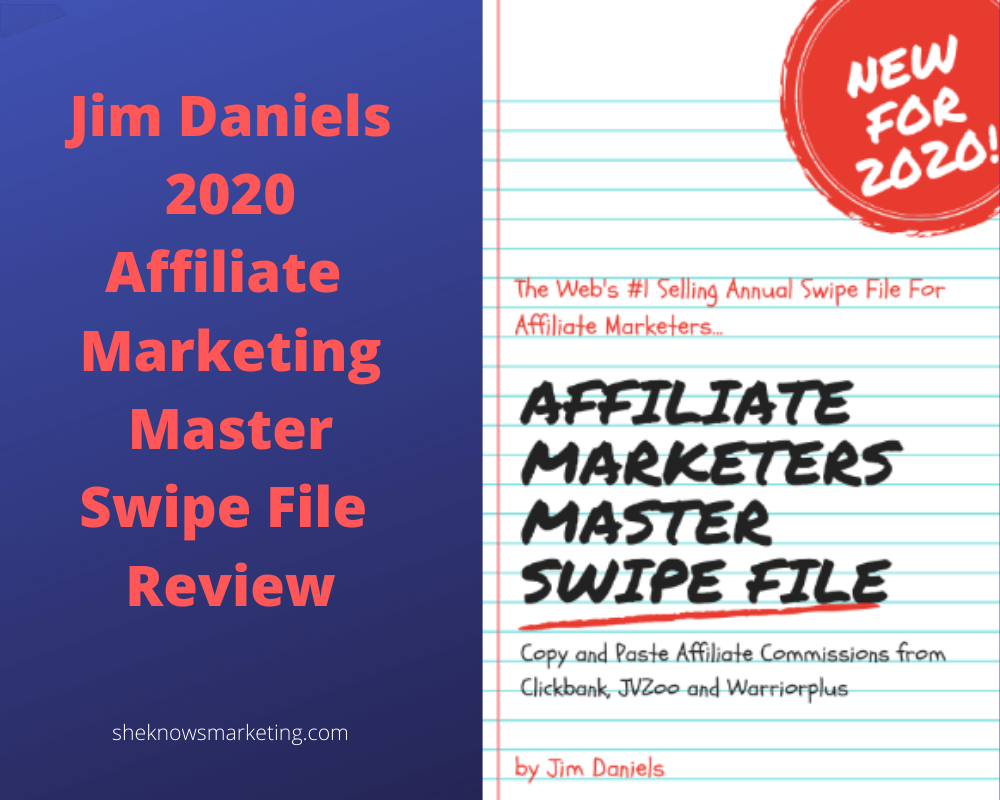 Affiliate Marketing Master Swipe File Review