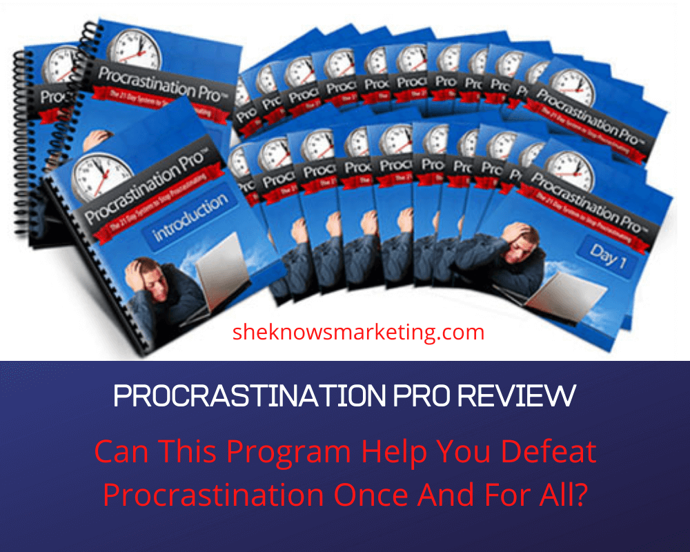 What Is Procrastination Pro